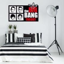 Wall stickers the big bang theory