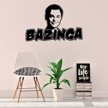 Vinyls and stickers bazinga the big bang theory
