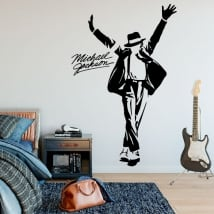 Vinyl and stickers michael jackson