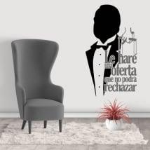 Decorative vinyl the godfather