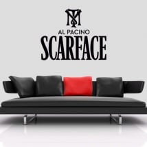 Vinyls and stickers scarface