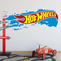 Decorative vinyls and stickers hot wheels