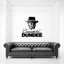 Vinyl and stickers crocodile dundee