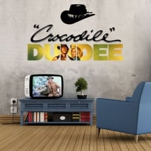 Decorative vinyls crocodile dundee