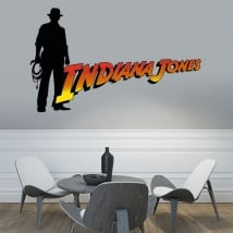 Vinyl and stickers indiana jones
