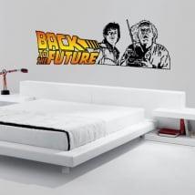 Decorative vinyl back to the future