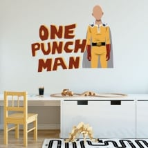 Decorative vinyls and stickers one punch man