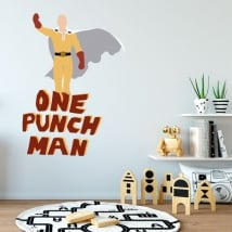Vinyls and stickers one punch man