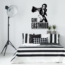 Decorative vinyls clint eastwood dirty harry