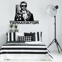 Adhesive vinyl terminator