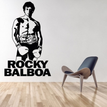 Decorative vinyls and stickers rocky balboa
