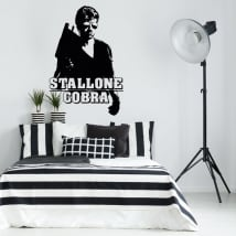 Decorative vinyl sylvester stallone cobra