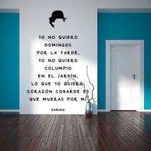 Vinyl phrases joaquín sabina