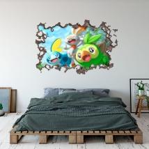 Sticker pokémon 3d