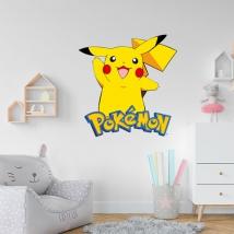 Pikachu pokémon stickers
