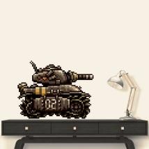 Metal slug tank sticker