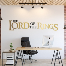 Lord of the rings vinyls and stickers
