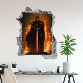 Decorative vinyl 3D Lord of the rings Lego