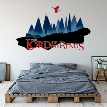 Adhesive vinyl the lord of the rings mountain