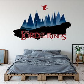Adhesive vinyl ring lord of the rings