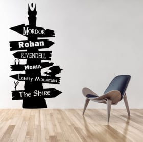The Lord of the rings decorative vinyl English 1141