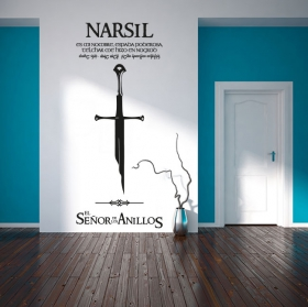 Decorative vinyl the lord of the rings
