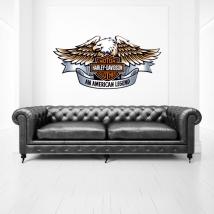 Decorative vinyl harley davidson