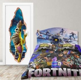Vinyl doors 3d video game fortnite