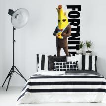 Decorative vinyls banana video game fortnite