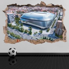 3d vinyls new stadium santiago bernabéu
