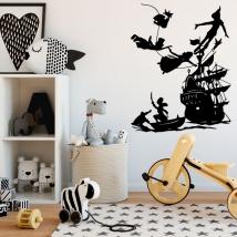 Decorative vinyl for children peter pan