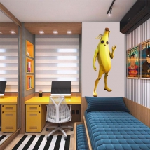 Vinyls video game fortnite banana