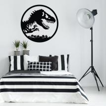 Decorative vinyls and stickers dinosaur