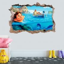 Vinyls and stickers 3d luca disney pixar