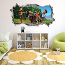 Vinyl hole wall 3d luca disney pixar