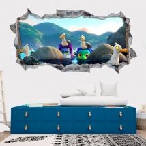 Adhesive vinyls 3d luca disney pixar