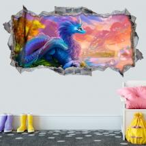 3d decorative vinyls raya and the last dragon
