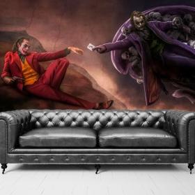 Joker wall murals