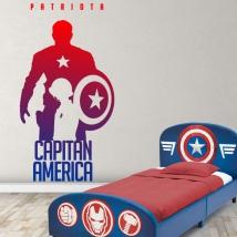 Vinyls marvel captain america patriot