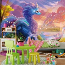 Wall murals raya and the last dragon