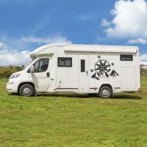 Vinyls motorhomes rose of the winds and mountains