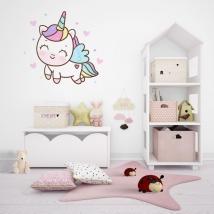 Vinyls and stickers unicorn