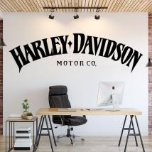 Harley davidson vinyl stickers