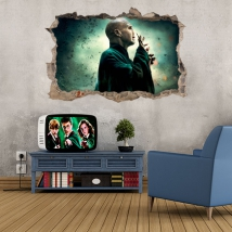 3d vinyl lord voldemort harry potter and the philosopher's stone
