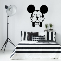 Vinyl and stickers mickey mouse disney