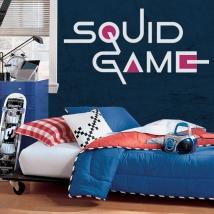 Decorative vinyls and stickers netflix squid game