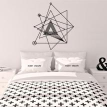 Vinyls and stickers decorative geometry